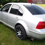 twin-engine VW Jetta with VR6 and W8 engines