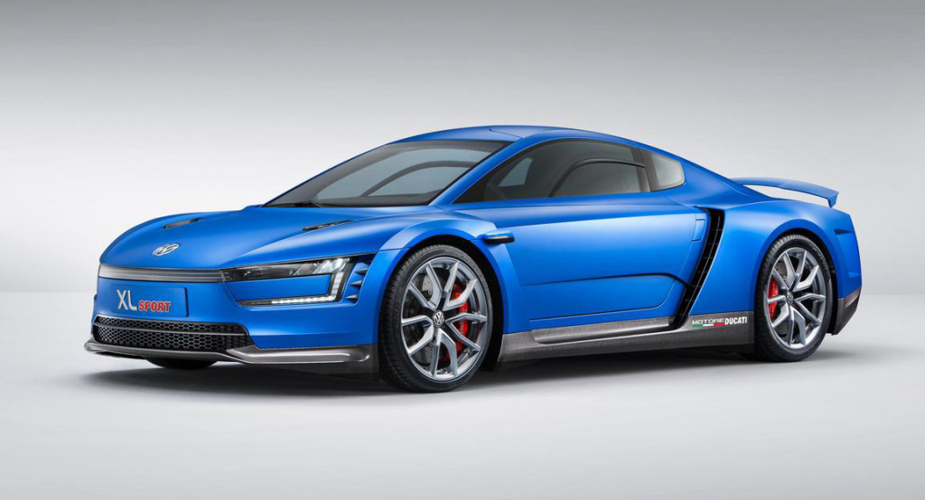 VW XL Sport powered by a Ducati 1199 Superleggera motorcycle engine