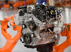 Ford's 2.7 L Ecoboost V6 being manufactured at the Lima Plant