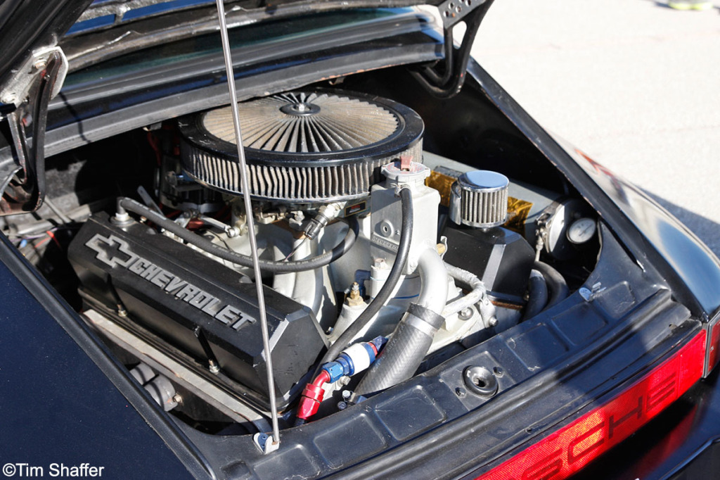 Porsche Gt8rs Has 8 Cylinders Of Don T Care Engine Swap
