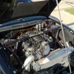 LS1 inside engine bay of 1997 Nissan 240SX
