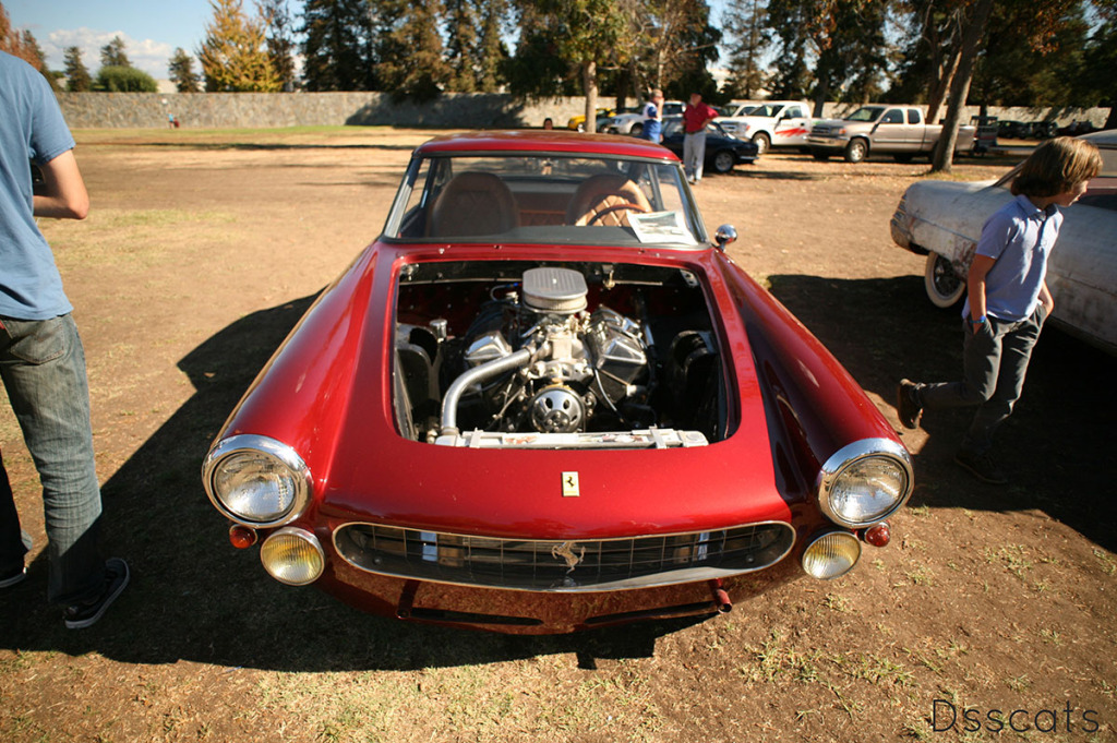 Ferrari 330 America with Chevy 302 ci V8