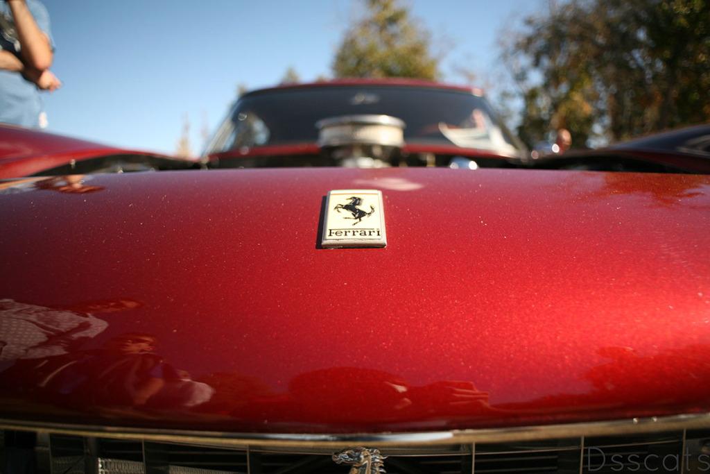 Ferrari 330 America with Chevy 302 ci V8
