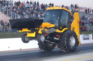 JCB Backhoe GT with supercharged big-block Chevy V8