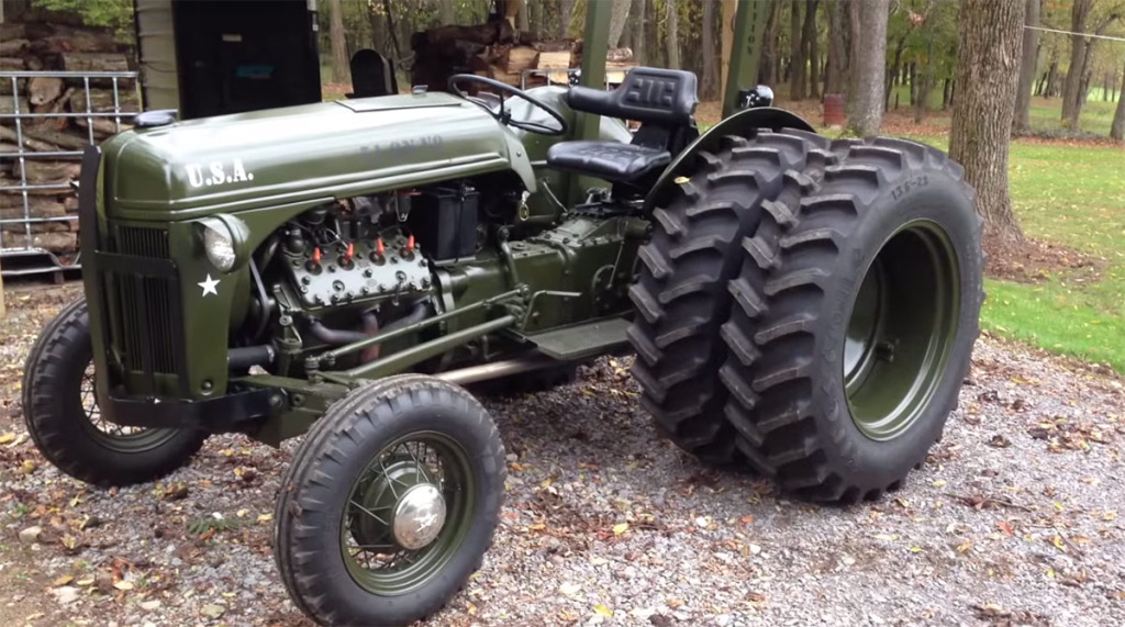 1951 ford tractor with a flathead v8  u2013 engine swap depot