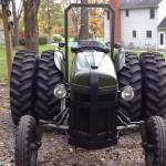 1951 Ford Tractor With A 8BA Flathead V8