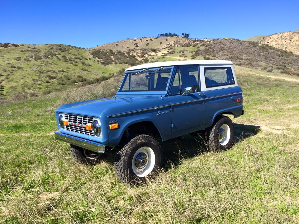 1972 Bronco ICON With A Coyote V8