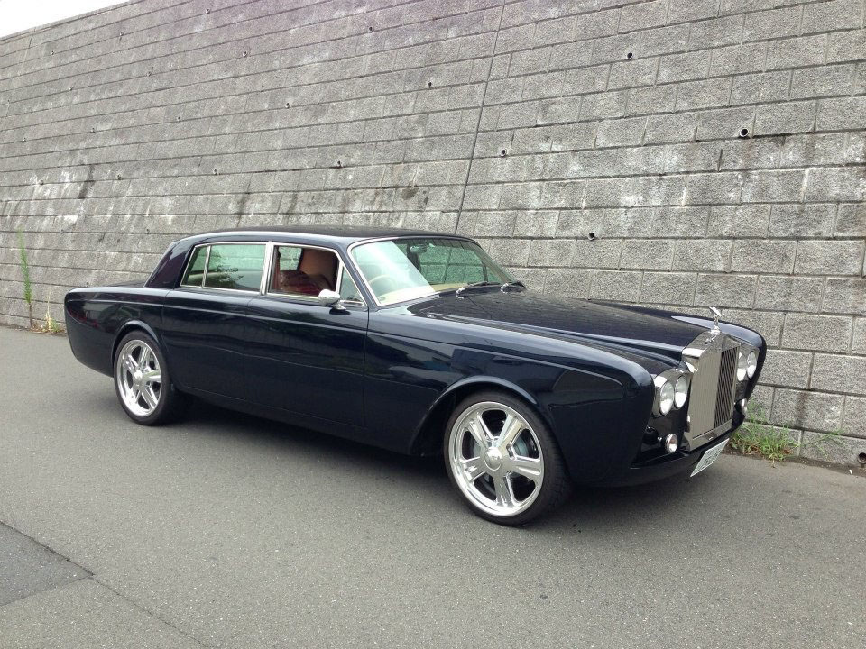 1975 Rolls Royce With A Ls7 Engine Swap Depot