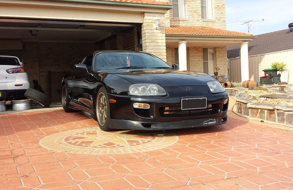 1996 Toyota Supra with 1JZ-GTE