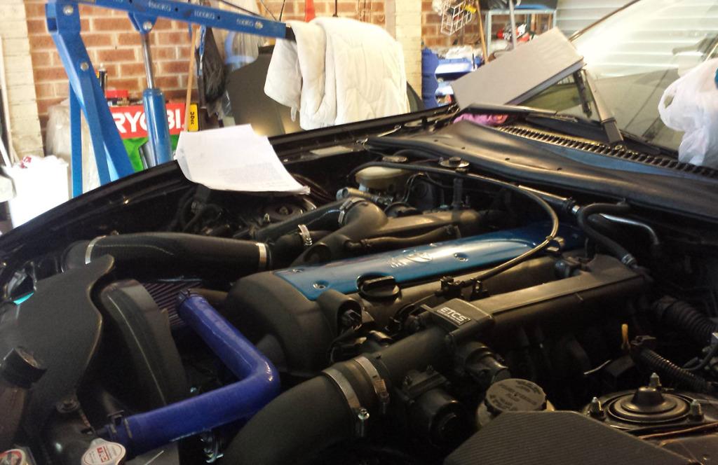 1996 Toyota Supra with 1JZ inline-six