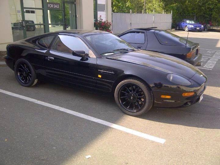 Aston Martin DB7 With A 2JZ-GTE