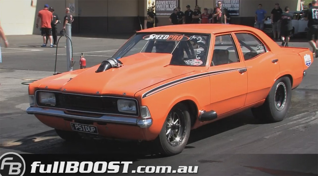 Ford Cortina With Twin-turbo Ford Big-block V8