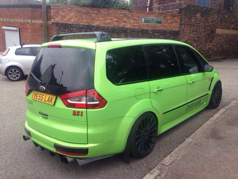 Ford Galaxy with Ford Focus RS inline-five