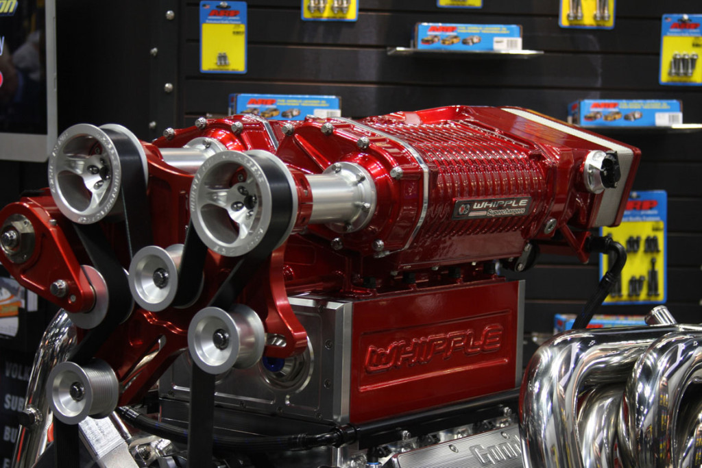Goodwin Competition Twin 4.0 L Whipple supcharged 2000 horsepower V8