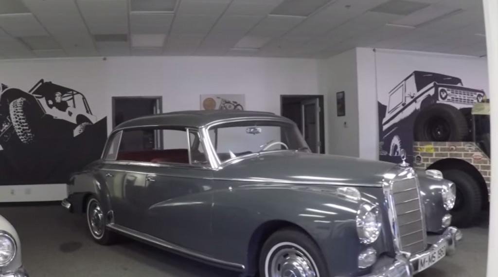 ICON 1959 Mercedes 300D will get 2015 Corvette drivetrain