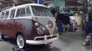 ICON 1967 VW Bus with Jetta engine