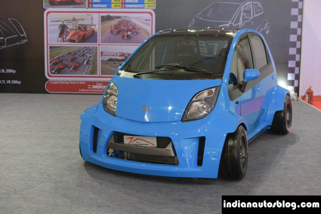 JA Motorsport's Super Tata Nano with turbocharged 1.3 L motorcycle engine