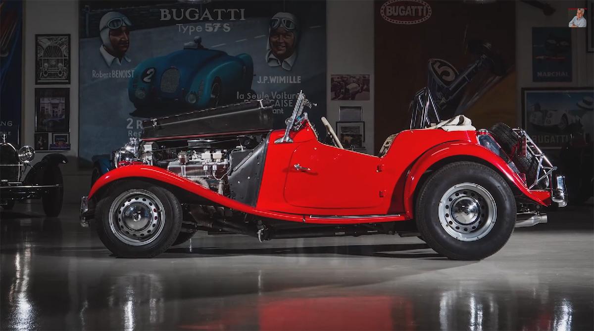 jay leno 1952 mg td with 350 sbc v8 01 engine swap depot rh engineswapdepot com MG TD Used Cars Sale MG TD Used Cars Sale