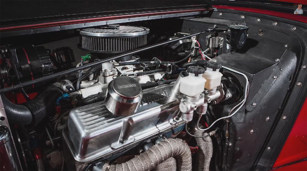 Jay Leno 1952 MG TD with 350 SBC V8