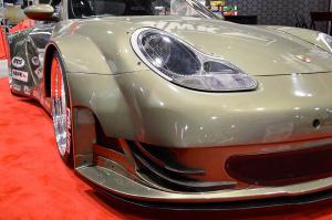 Porsche 911 DV8 powered by a LS7 V8
