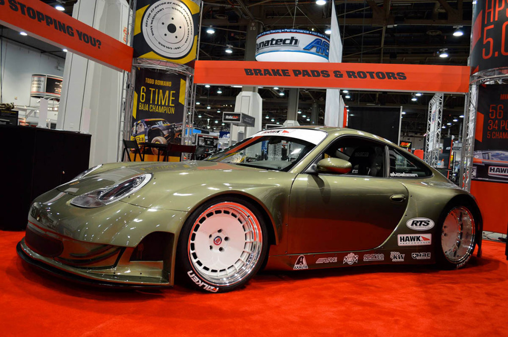 Porsche 911 DV8 powered by a LS7 V8