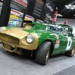 Razorback Racing MGB with a 408 ci Chevy V8
