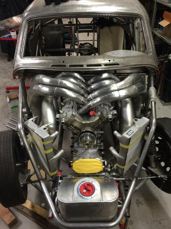 Rudezon Is A Two-stroke V8 Powered Volvo Amazon – Engine ...