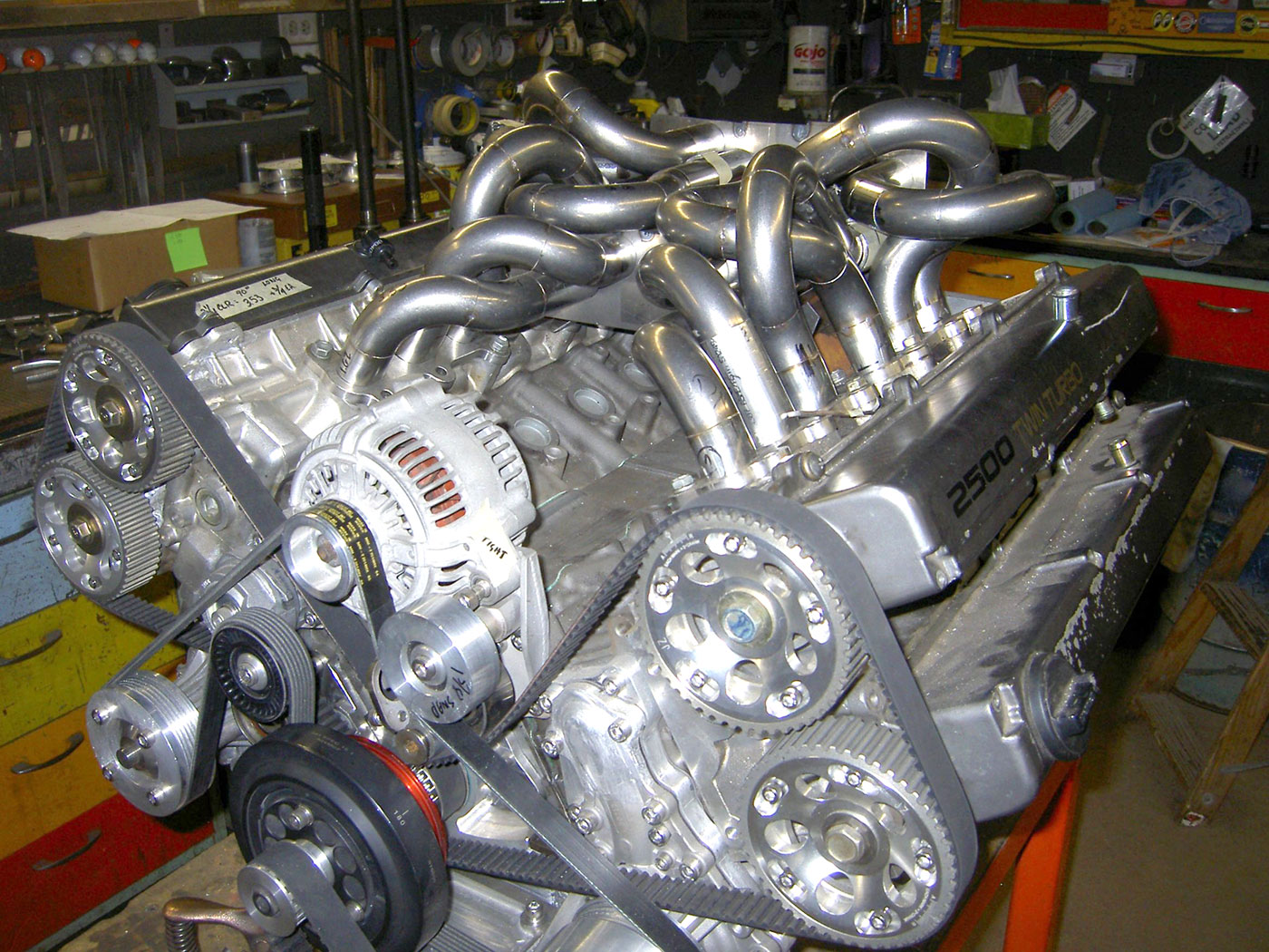 It Has Been A While Since We Last Wrote About The V12 Engine Build Using Two Toyota Inline Six Engines Recently Relative Of Builder Posted New