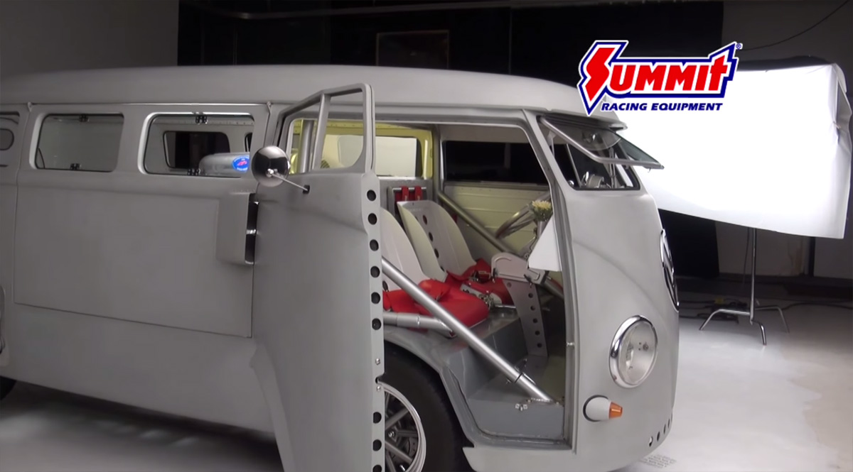 Vw Bus With Mid Engine V