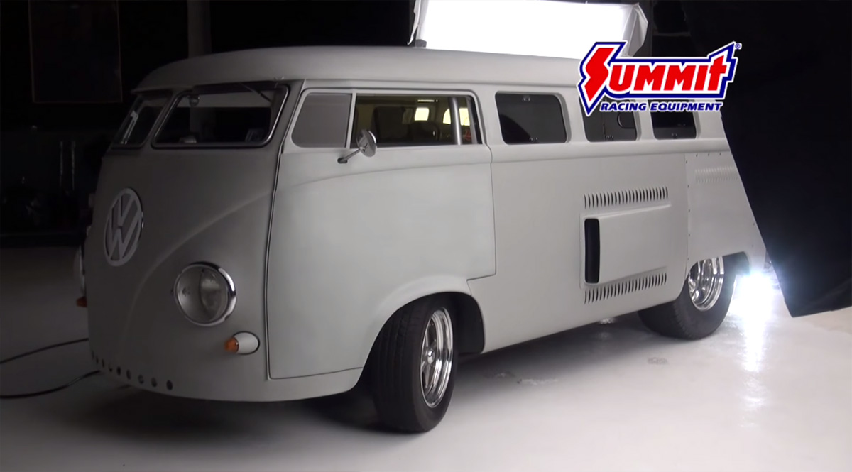 1962 Vw Bus With A Mid Engine V8 Engine Swap Depot