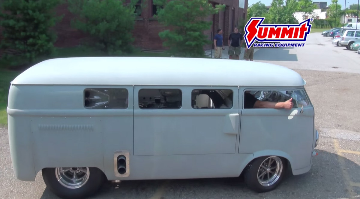 1962 VW Bus with a Mid-engine V8 – Engine Swap Depot