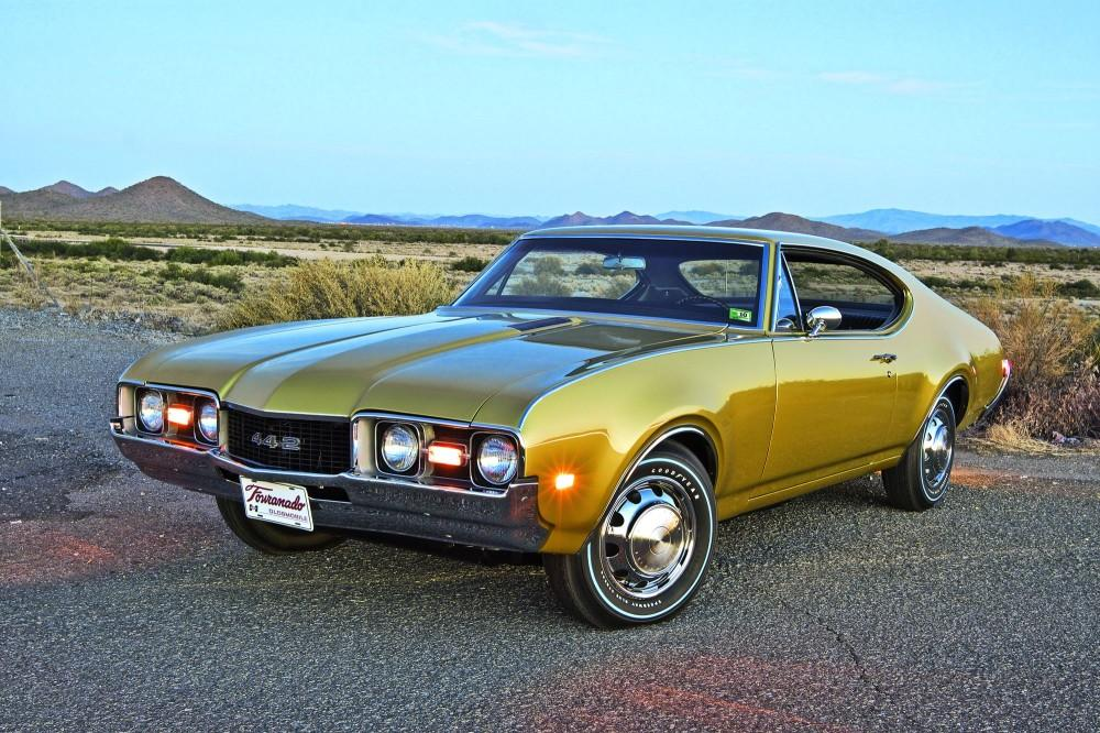 1968 Fouranado Oldsmobile 442 With A Toronado Powertrain