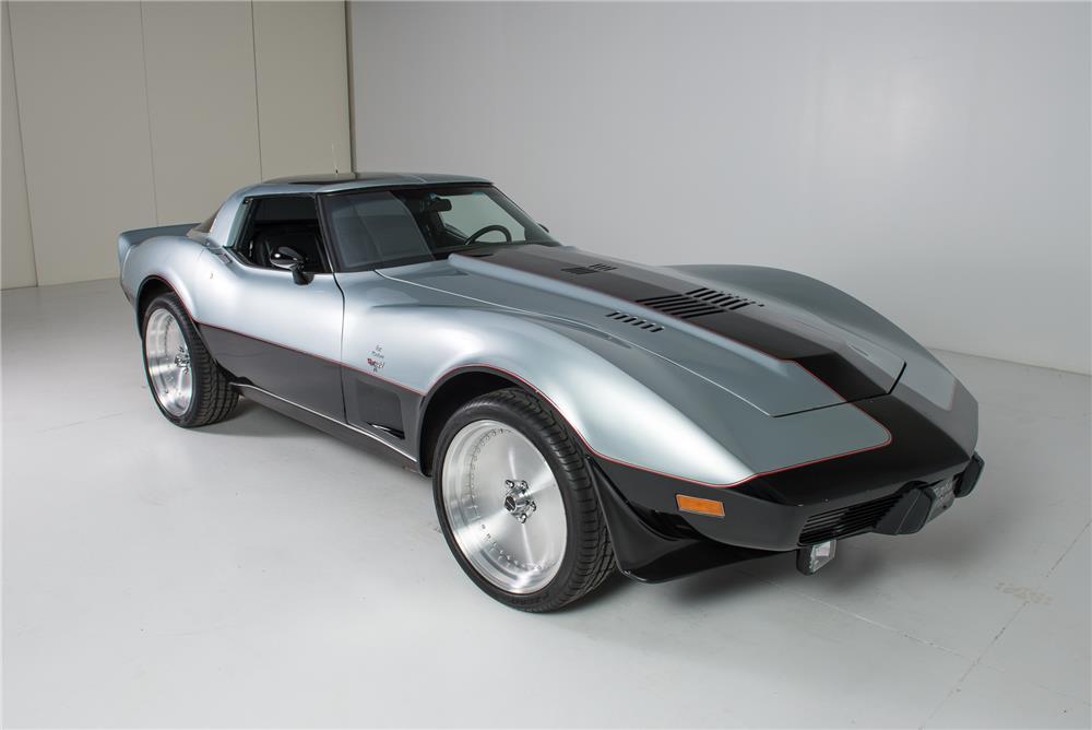 1978 Corvette Powered By A Pratt & Whitney ST6B turboshaft turbine