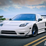 1991 Acura NSX with a V6 from LoveFab's 2012 Pikes Peak NSX