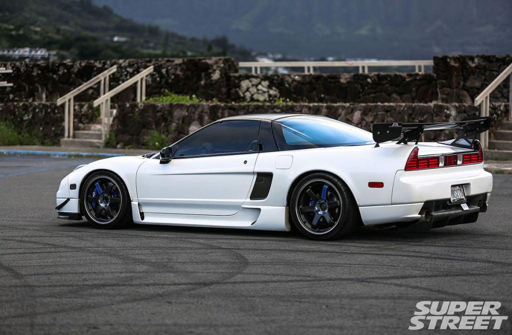 Acura NSX With LoveFab's Pikes Peak Engine ...