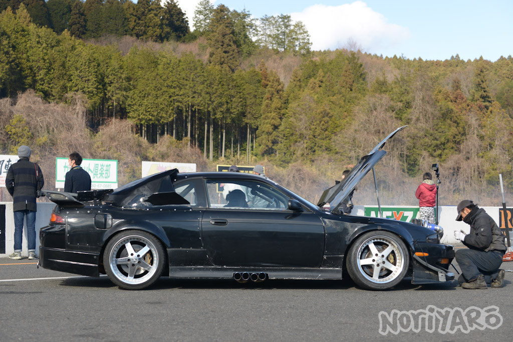 Caroline Racing Quad-turbo 2JZ Powered Nissan S14