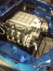 ZR1 LS9 inside a Chevy Colorado engine bay