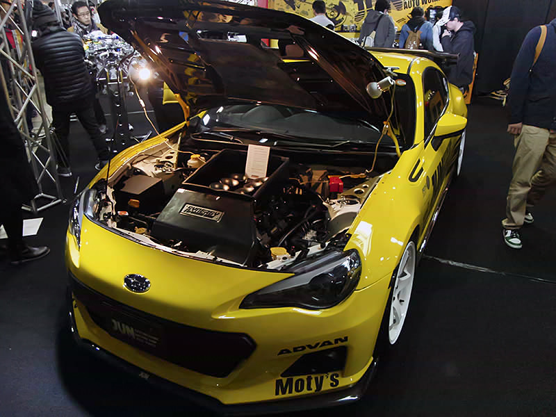 JUN Subaru BRZ With A Synergy V8