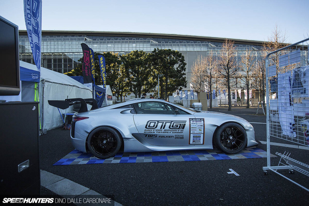 OTG Lexus LFA with a TRD NASCAR V8
