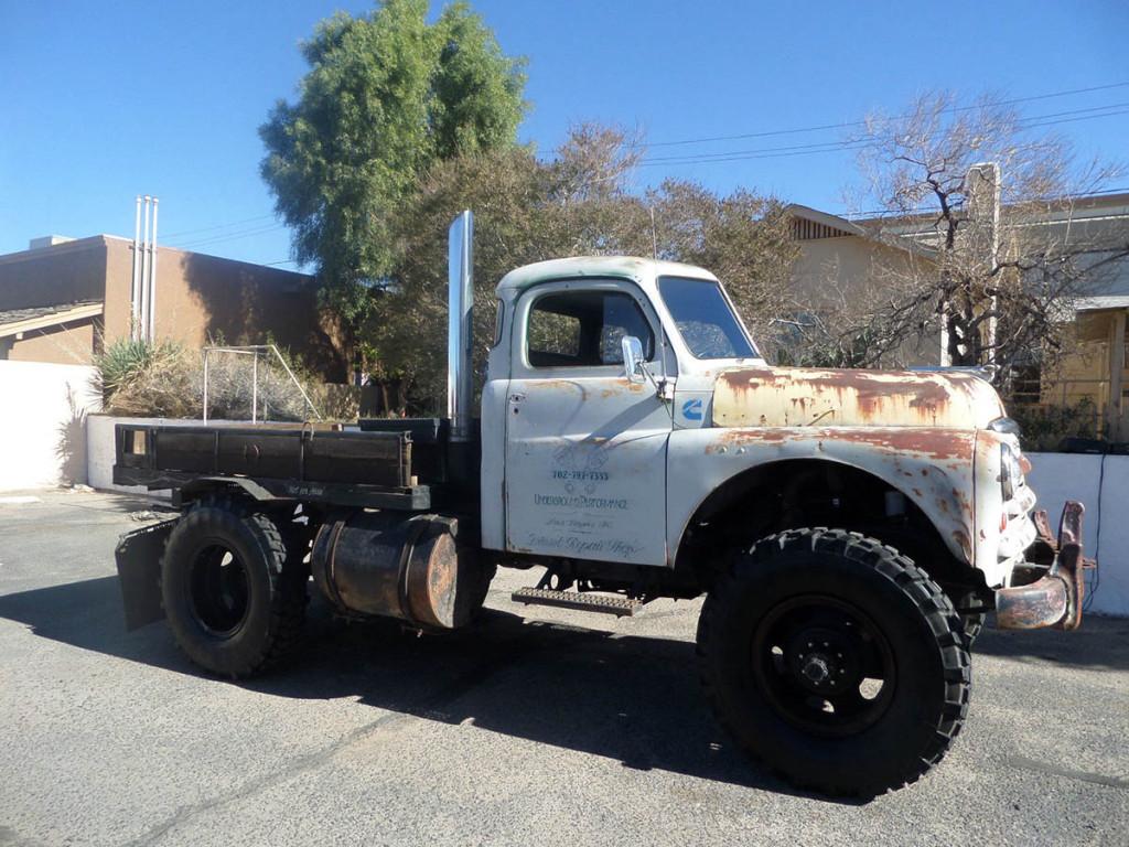 1949 Dodge Truck With Cummins Diesel Engine Swap Depot