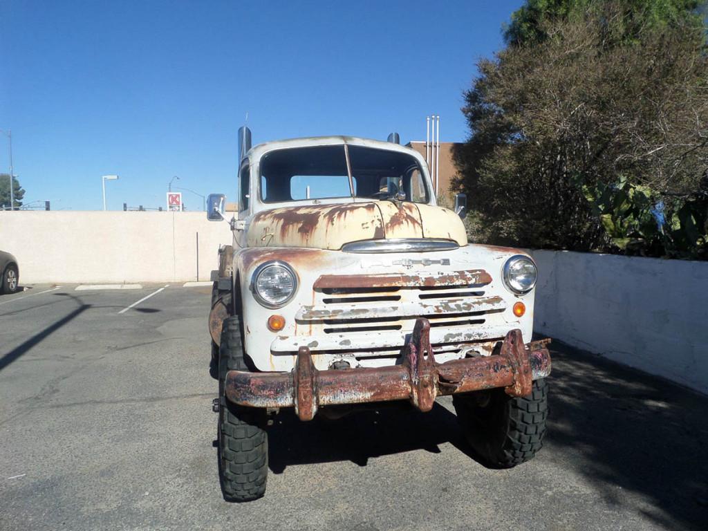 1949 Dodge Truck with a mins 6BT Diesel – Engine Swap Depot