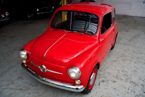 1959 Fiat 600 With Mazda 12A Rotary