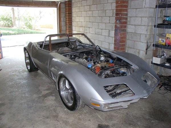 1971 Corvette with a BMW M73 V12
