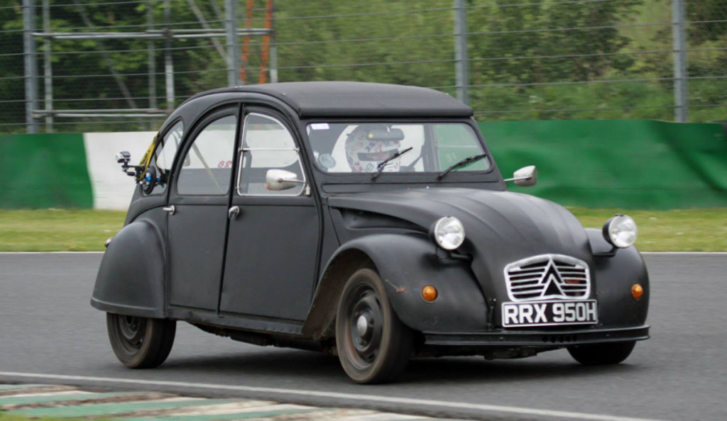 Citroen 2CV With BMW 1100 Motorcycle Engine