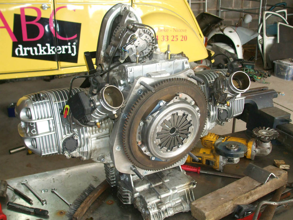 citroen 2cv with a bmw motorcycle engine  u2013 engine swap depot