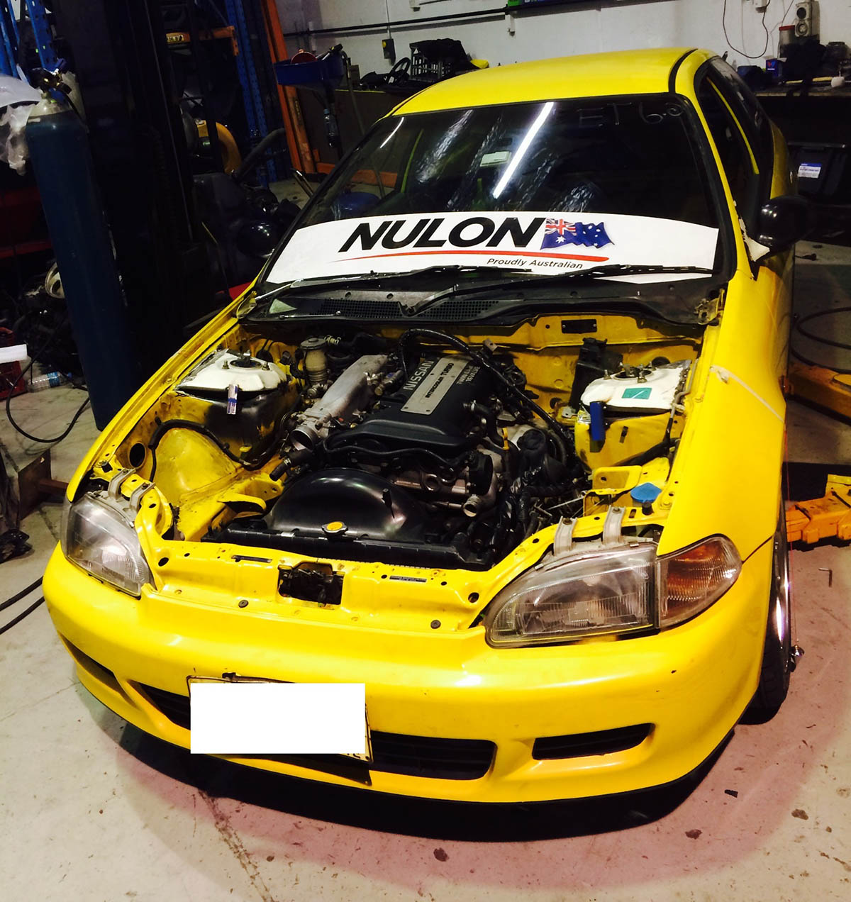 rwd honda civic with a sr20det  u2013 engine swap depot ls1 engine swap wiring harness