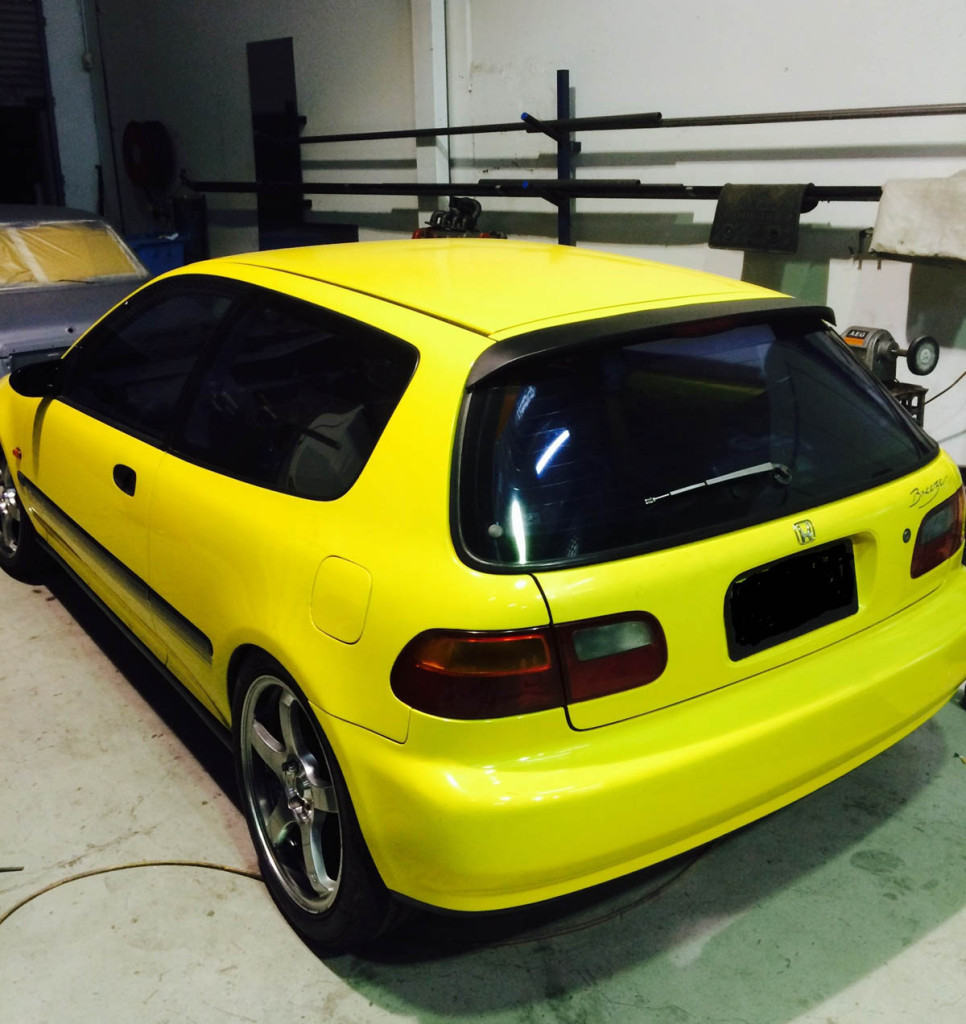 Civic With A Nissan S15 Powertrain