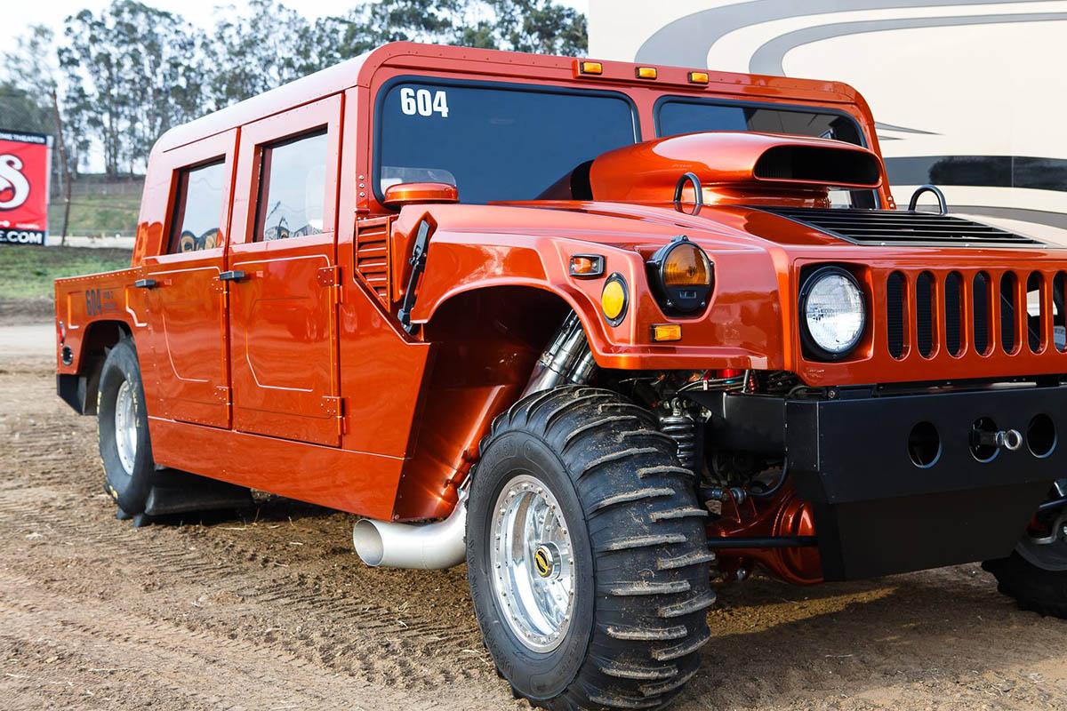 Drag Hummer with a Steve Morris 3,000 HP BBC – Engine Swap Depot