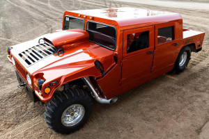 Drag Hummer H1 With A Steve Morris 3,000 HP BBC