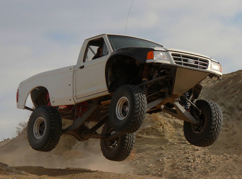 Ford Ranger With Supercharged Toyota 1UZ-FE V8
